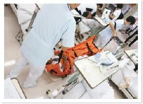 透析センター避難訓練