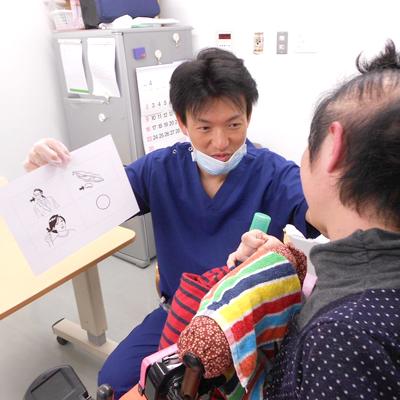 西陣病院、▲発声・発話器官の改善練習