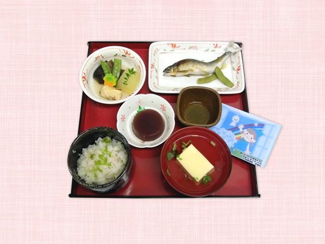 西陣病院、<6月>あゆ料理