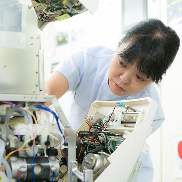 西陣病院、医療機器管理業務 画像