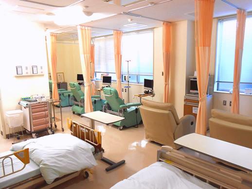 西陣病院、化学療法外来について