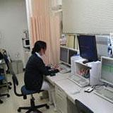 西陣病院、フクダ電子 Hi-MEDIONにて所見入力 画像