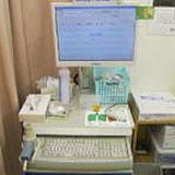 西陣病院、フクダ電子 SP-770COPD 画像
