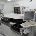 西陣病院、生化学検査(AU-600)