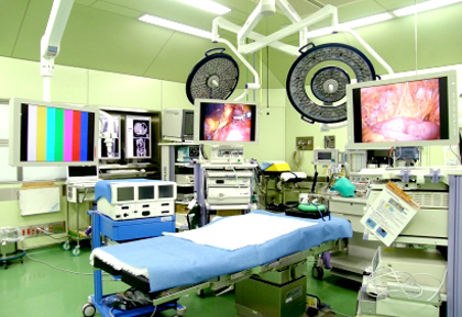 西陣病院、リニューアルした手術室