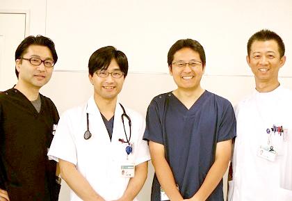西陣病院、西陣病院の外科スタッフ