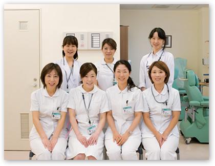 外来化学療法室スタッフ