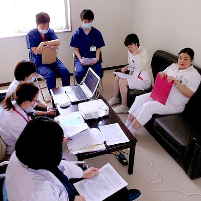 西陣病院、▲栄養サポートチーム(NST)への参加