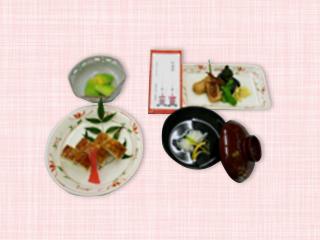 西陣病院、<7月>祇園祭(はも寿司)