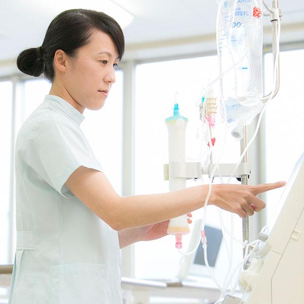 西陣病院、血液浄化業務 画像
