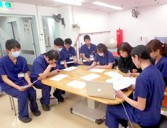 西陣病院、科内勉強会