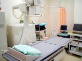 西陣病院、泌尿器科専用撮影装置(島津製作所製)